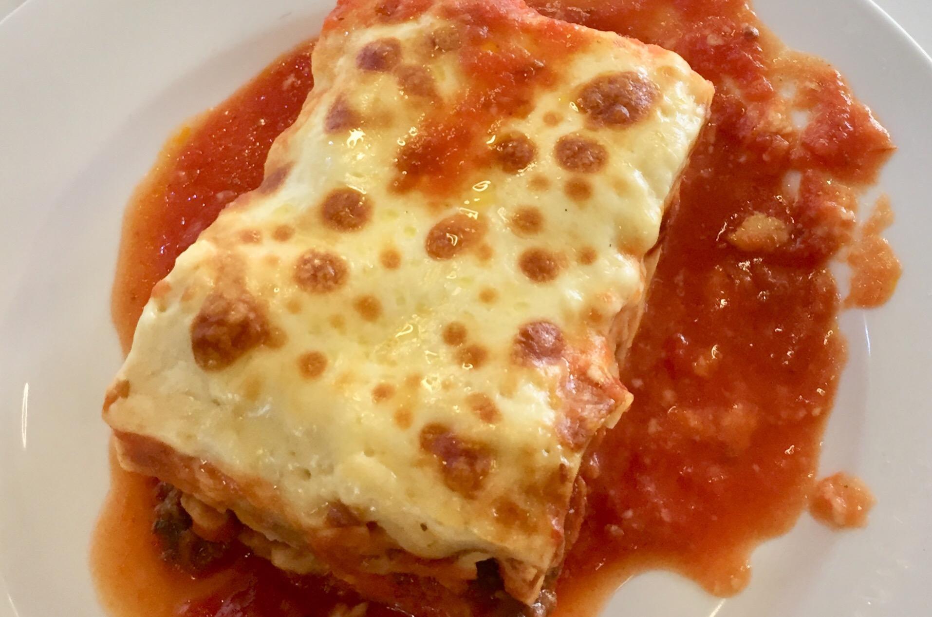Nonna Inspired Beef Lasagna