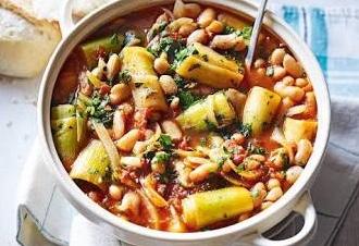 Spicy Bean Casserole w Pasta