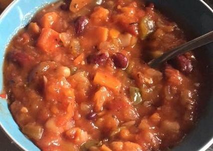 Tuscan Veg & Bean Stew (Vegan)