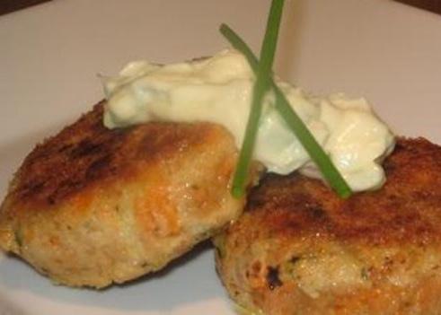 Tuna Patties Sweet Potatoes and Dill