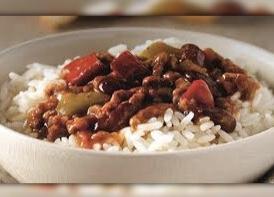 Beef Chilli Con Carne w Rice