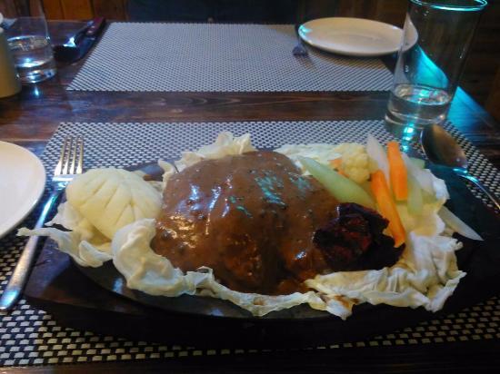 Pork w BBQ Sauce & Mash
