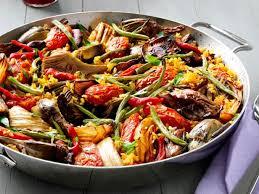 Veg Paella (Vegan)