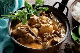 Beef Massaman w Rice