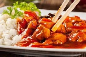 Sweet & Sour Chicken w Rice