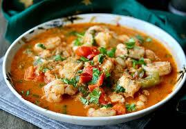 Fish & Shrimp Stew w Rosti